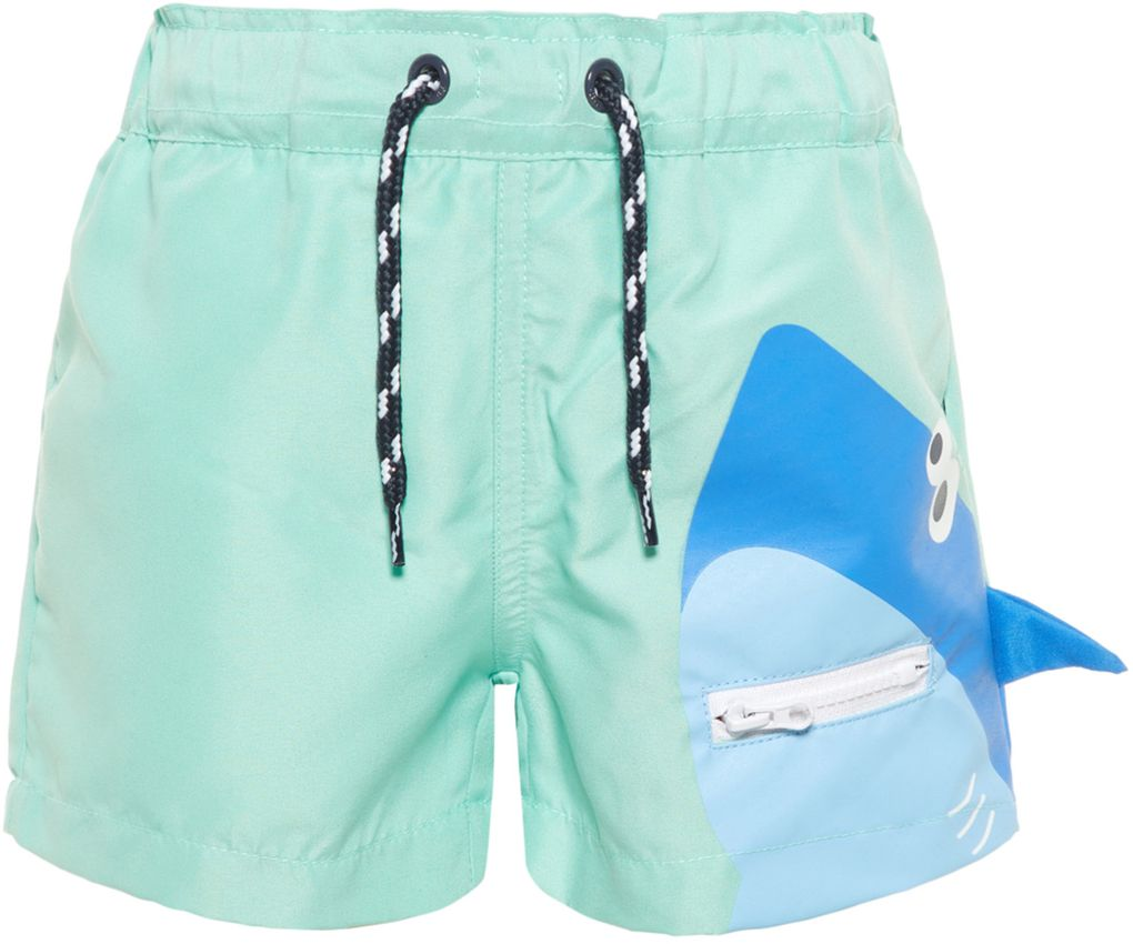 Name it Jungen Badeshorts mit Mesh-Innenhose NMMzharky