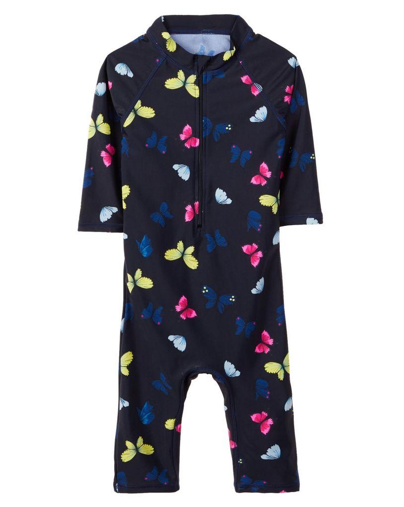Name it Baby Mädchen UV Schwimmanzug UV-Schutz 50+ NMFzu