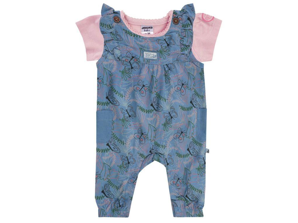 Jacky Baby Mädchen Sommer-Set T-Shirt und Strampler