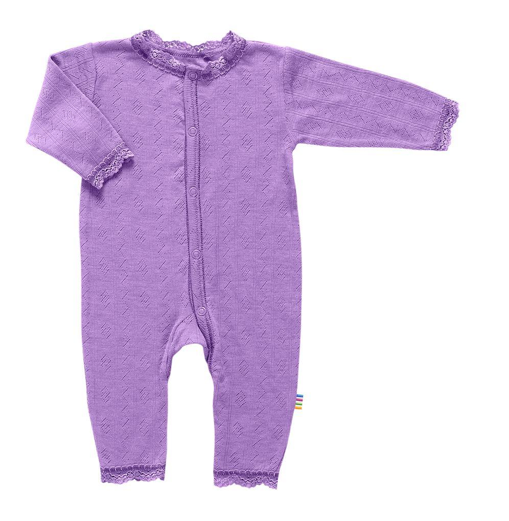 Joha Baby Mädchen Schlafoverall aus Merino-Wolle/Seide