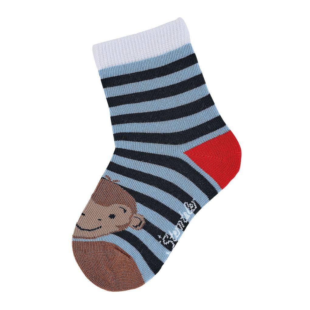 Sterntaler Jungen Socken 7er Pack gemustert hoher Baumwollanteil – Bild 6