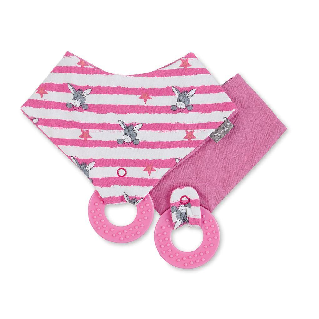 Sterntaler Baby Dreieckstuch mit Beißring und wasserfestem Inlet – Bild 3