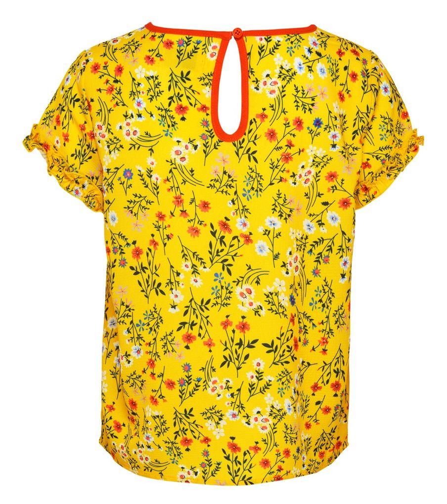 Kids Only Mädchen Shirt-Bluse kurzarm Millefleurs KONAGNES – Bild 2