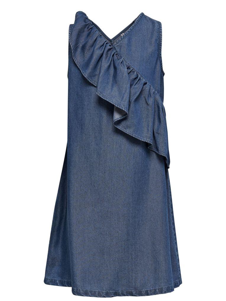 KIDS ONLY Mädchen Jeanskleid mit Rüschen Sommerkleid KONAJA