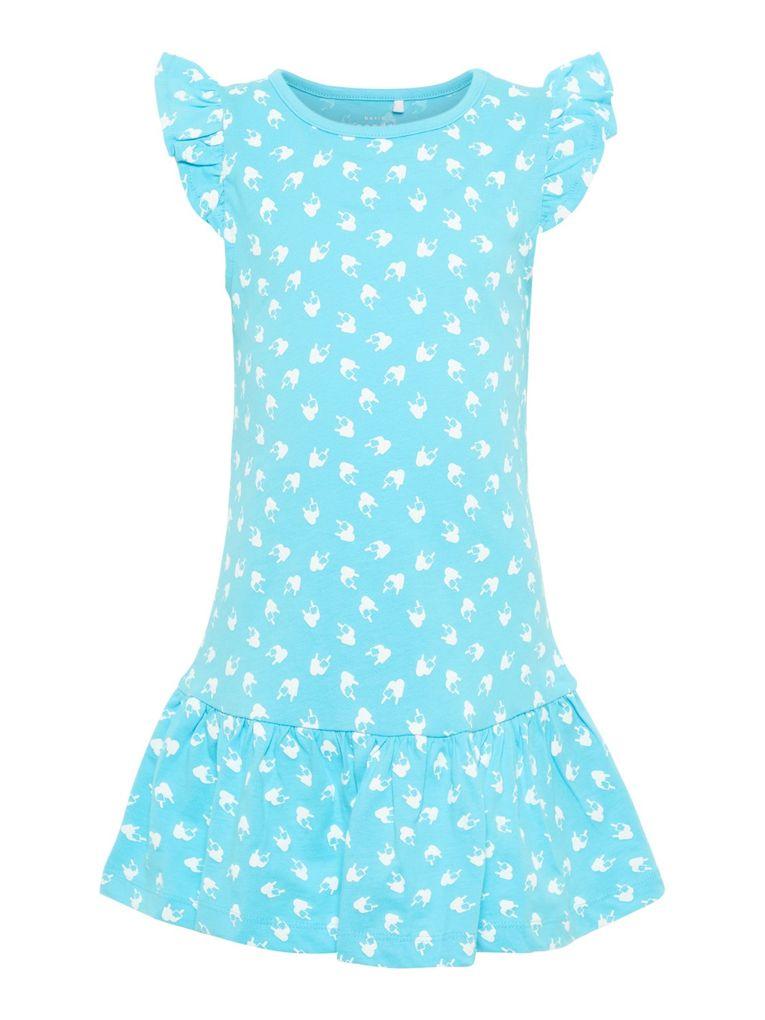 Name it Mädchen Sommer-Kleid Baumwolle Strandkleid NMFVIDA