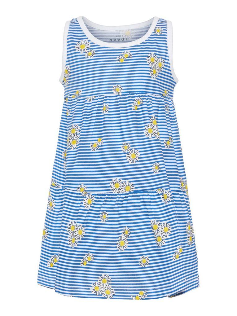 Name it Mädchen Sommer-Kleid Baumwolle Strandkleid NMFvigga