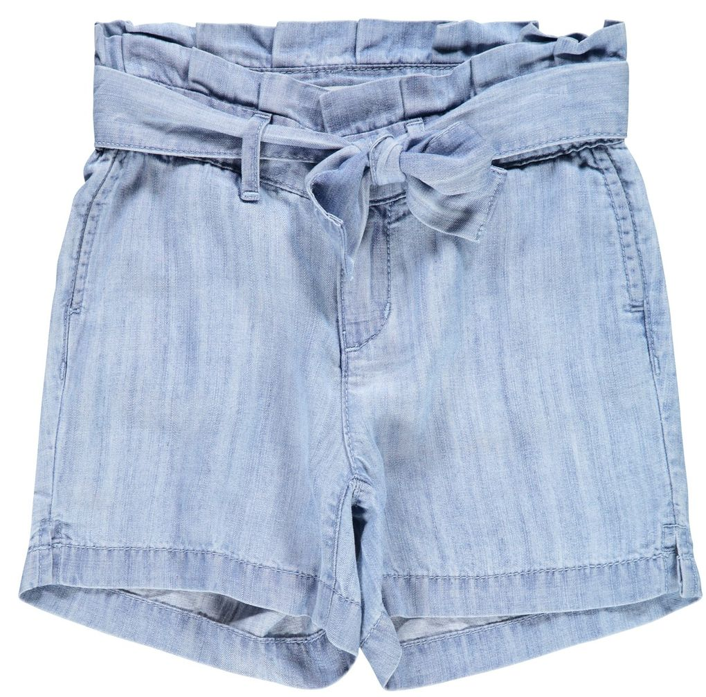 Name it Mädchen Jeans-Shorts regular NKFRANDI light blue denim