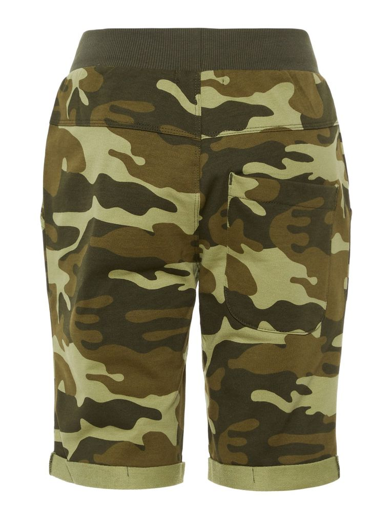 Name it Jungen Long Shorts NKMVERMO Sweathose Camouflage – Bild 2