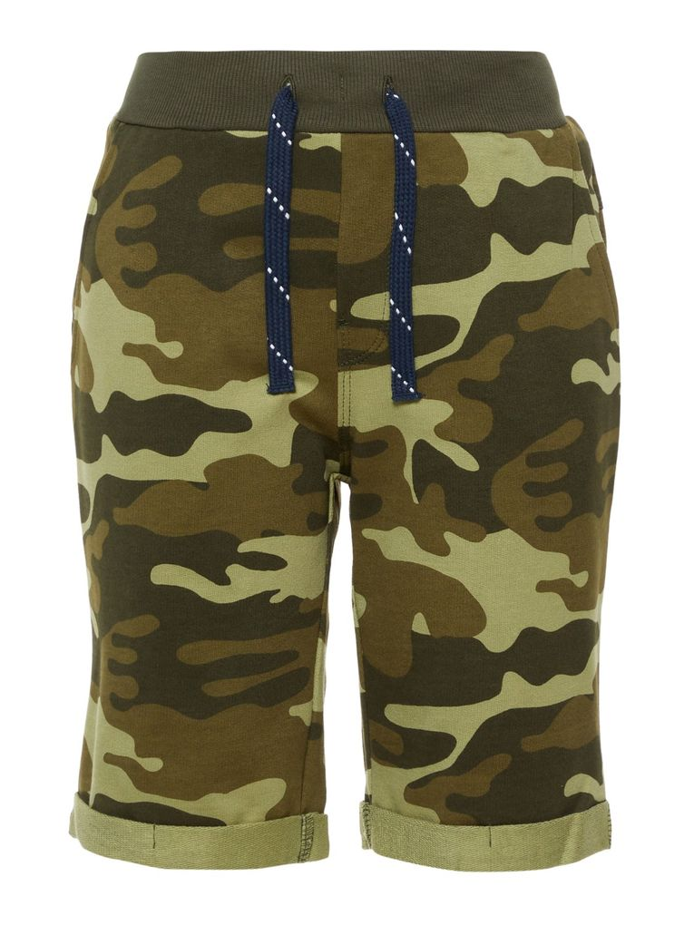 Name it Jungen Long Shorts NKMVERMO Sweathose Camouflage