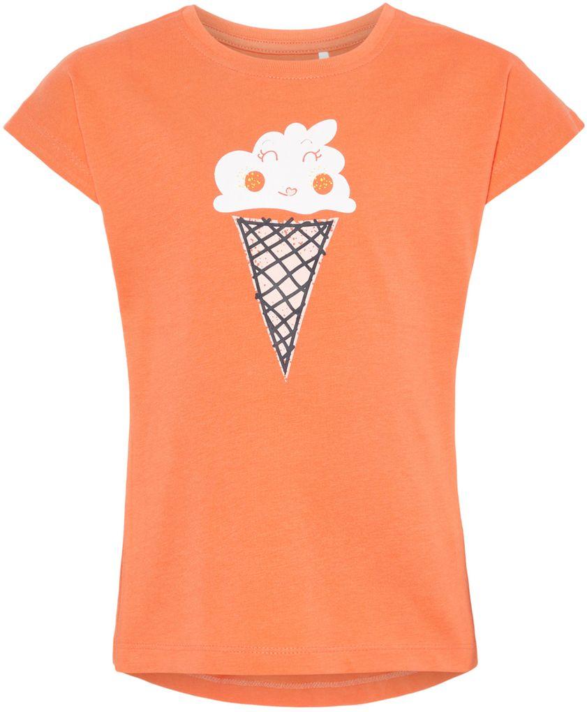 Name it Mädchen T-Shirt kurzarm NMFVEGAS Baumwolle – Bild 4