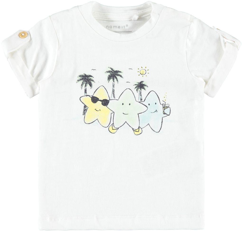 Name it Baby Jungen T-Shirt kurzarm Biobaumwolle NBMJEMUM
