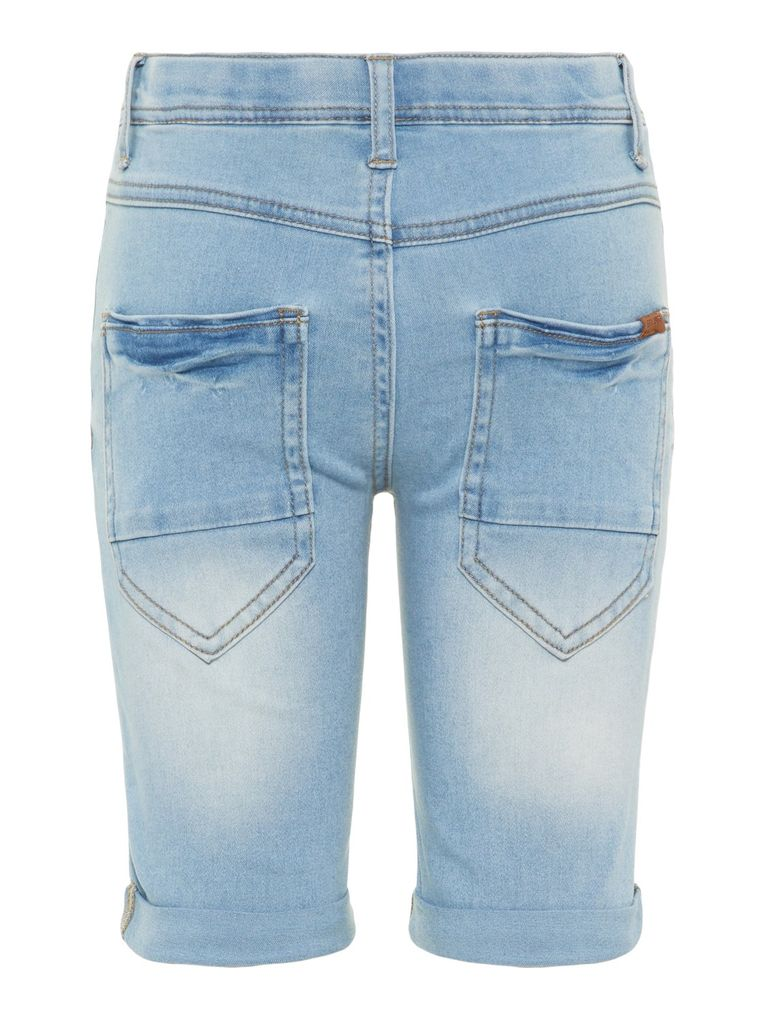 Name it Jungen Jeans Long Shorts NKMTHEO DNMTIMON xslim fit – Bild 2