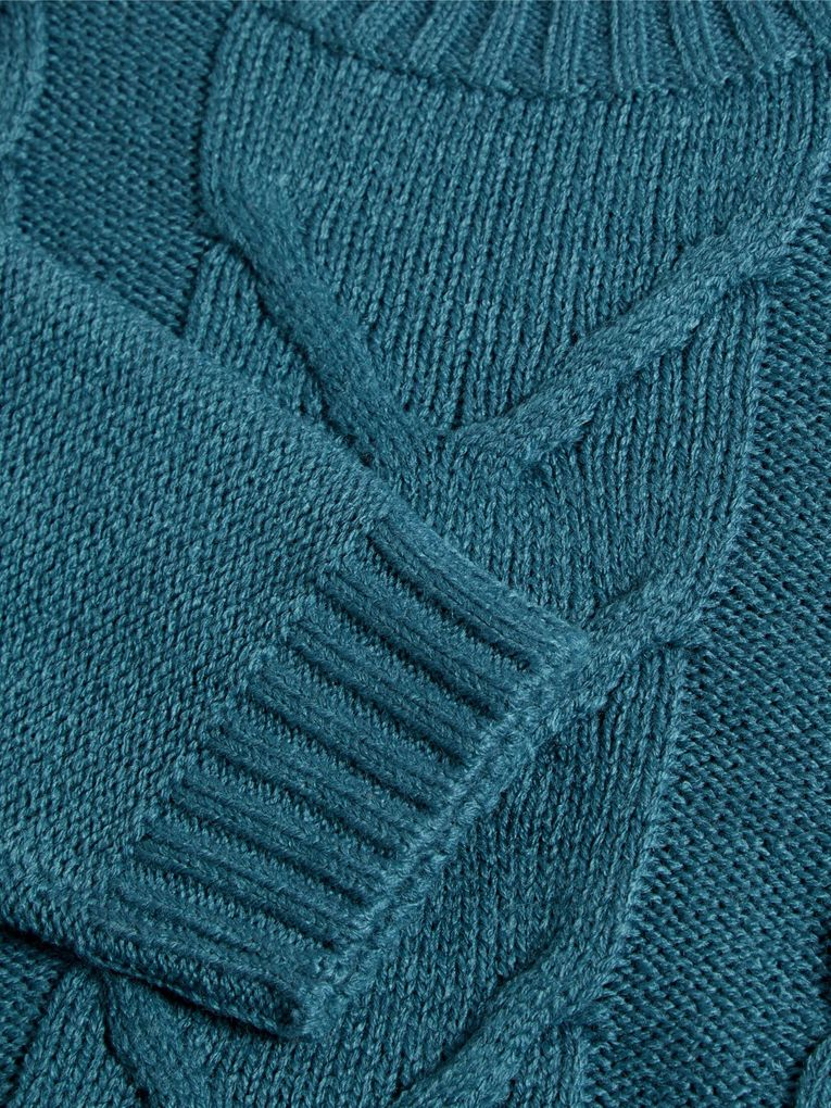 Name it Jungen Strick-Pullover NKMNOBERT LS KNIT CAMP – Bild 3