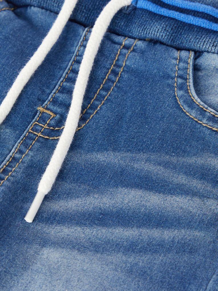 Name it Baby Jungen Jeans Hose Joggbund Baggy-Style NBMROMEO – Bild 4