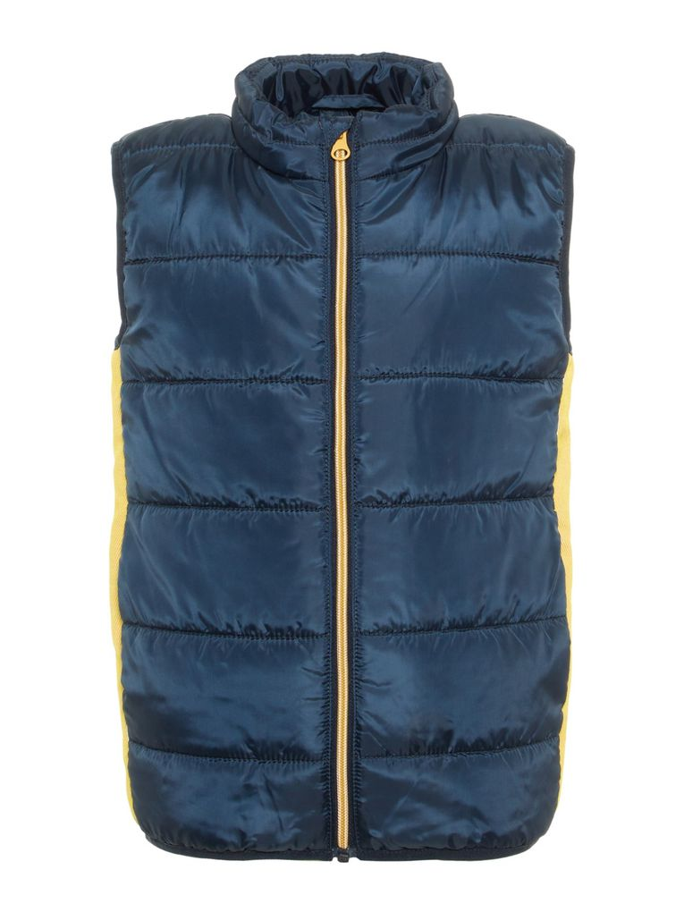 Name it Kinder Outdoor-Weste Steppweste gefüttert NKMMYLANE VEST