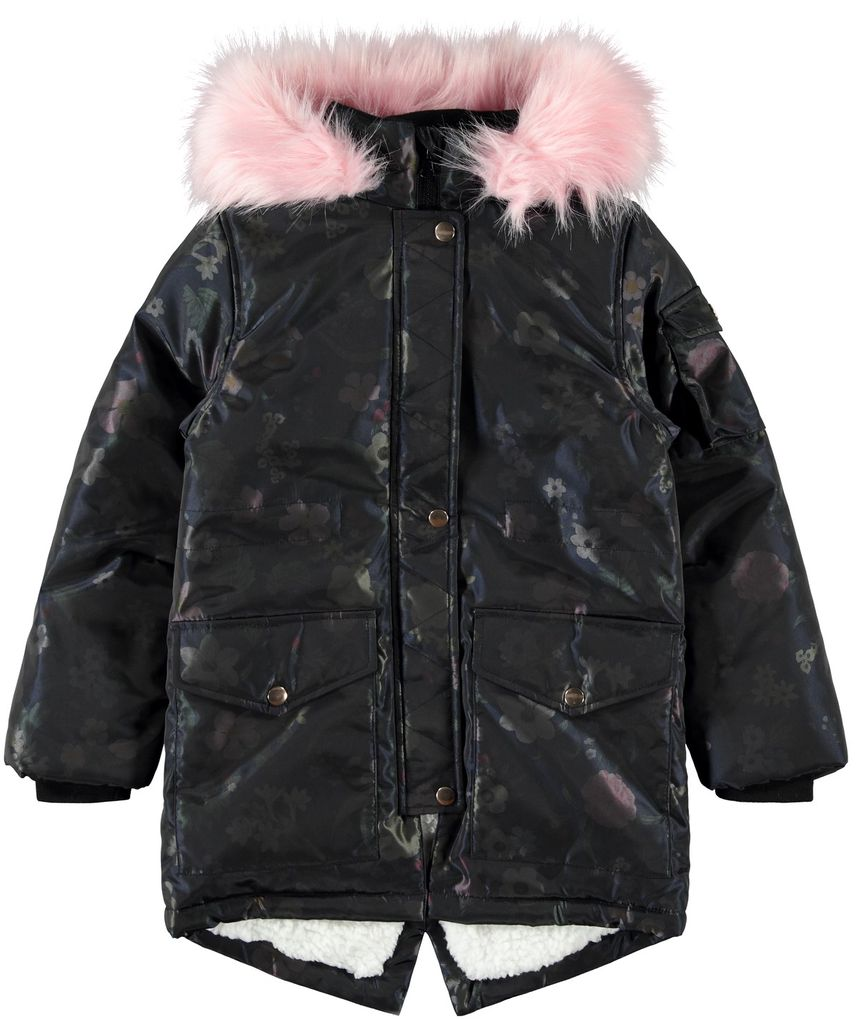 Name it Mädchen Winterjacke Anorak NKFMOSA PARKA JACKET