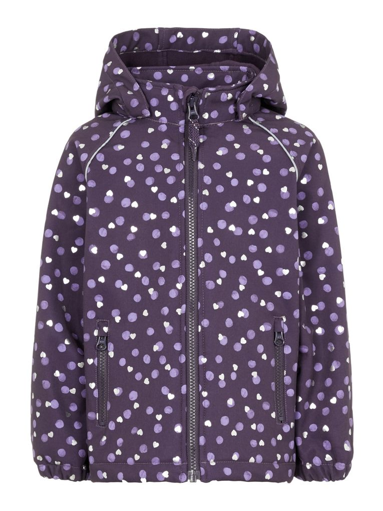 Name it Baby Kinder Mädchen Jacke Softshell NMFALFA JACKET DOT 1FO – Bild 1