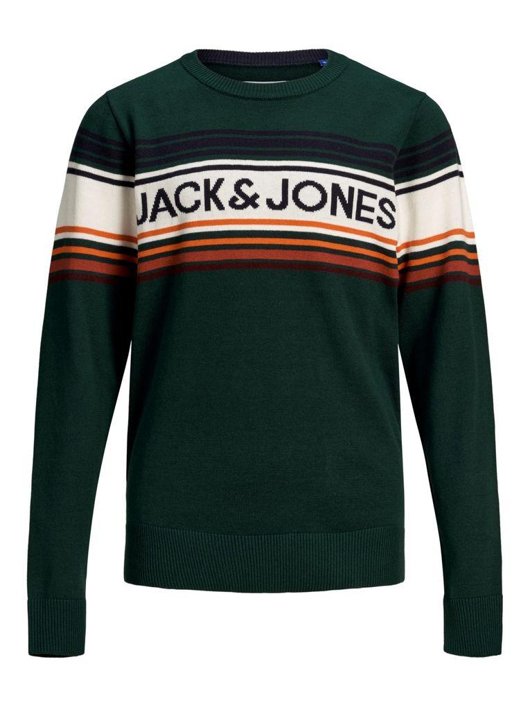 Jack & Jones Jungen Pullover JORPEAK KNIT CREW NECK JR
