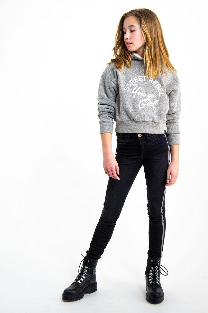 Garcia Mädchen Sweatshirt Kapuze mit Teddyfell Winterpullover – Bild 5