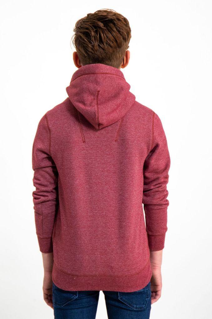 Garcia Jungen Sweatshirt mit Kapuze Hoodie angeraut meliert – Bild 13