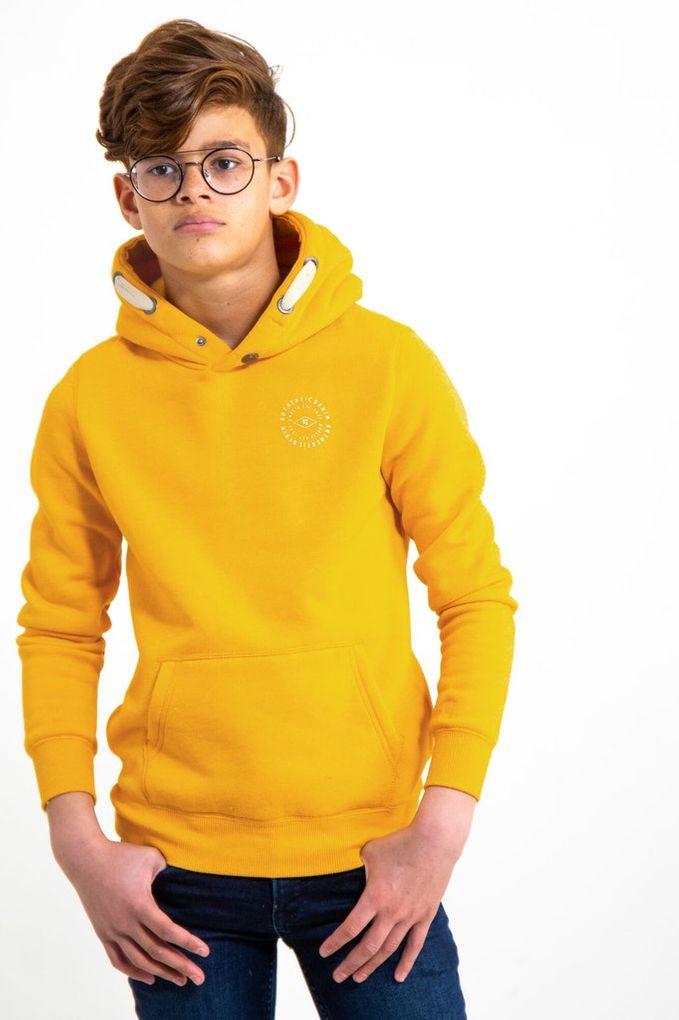 Garcia Jungen Sweatshirt mit Kapuze Hoodie angeraut meliert – Bild 17
