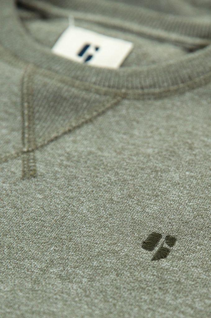 Garcia Jungen Hoodie Sweatshirt Rundhals-Ausschnitt meliert – Bild 10