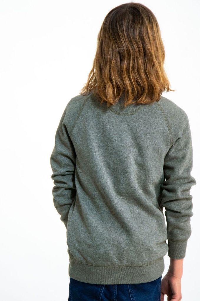 Garcia Jungen Hoodie Sweatshirt Rundhals-Ausschnitt meliert – Bild 8