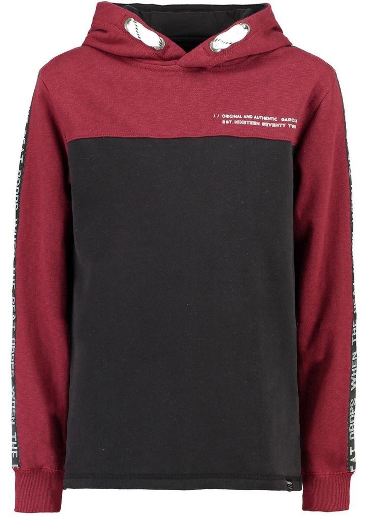 Garcia Jungen Hoodie Teenager Kapuzen-Sweatshirt Baumwolle