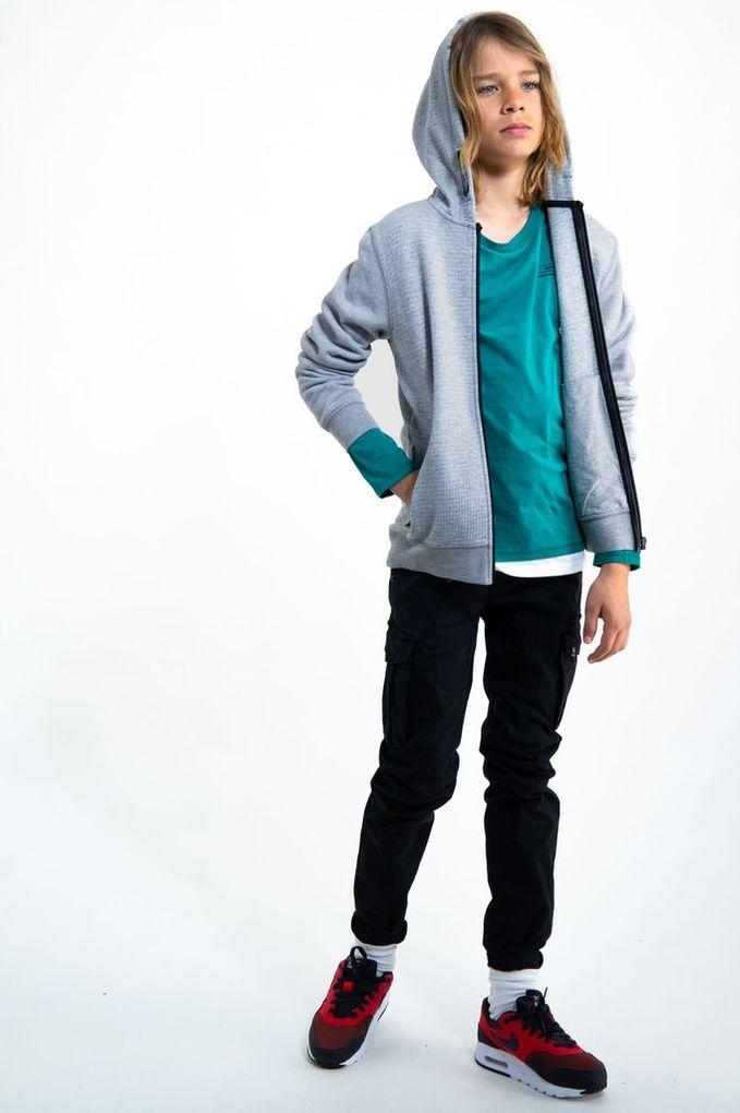 Garcia Jungen Sweatjacke mit Kapuze Hoodie Baumwolle – Bild 4