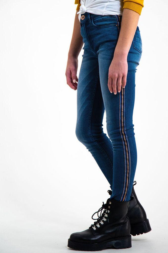 Garcia Mädchen Jeans Hose Skinny Rianna high waist superslim fit – Bild 2