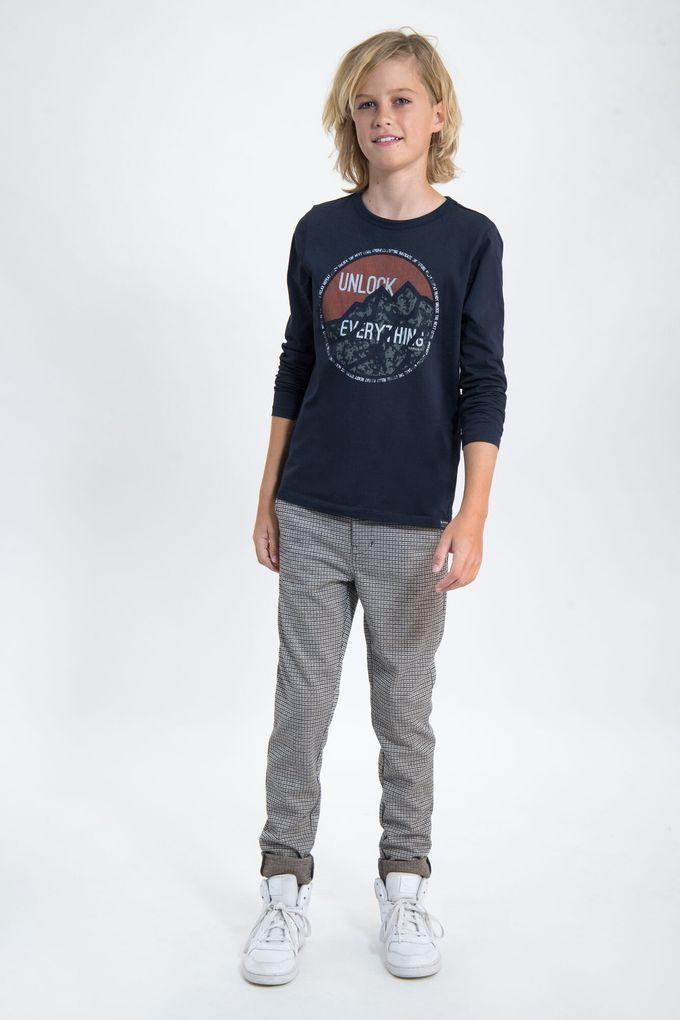 Garcia Jungen Langarmshirt in Doppeloptik Rubberprint – Bild 10