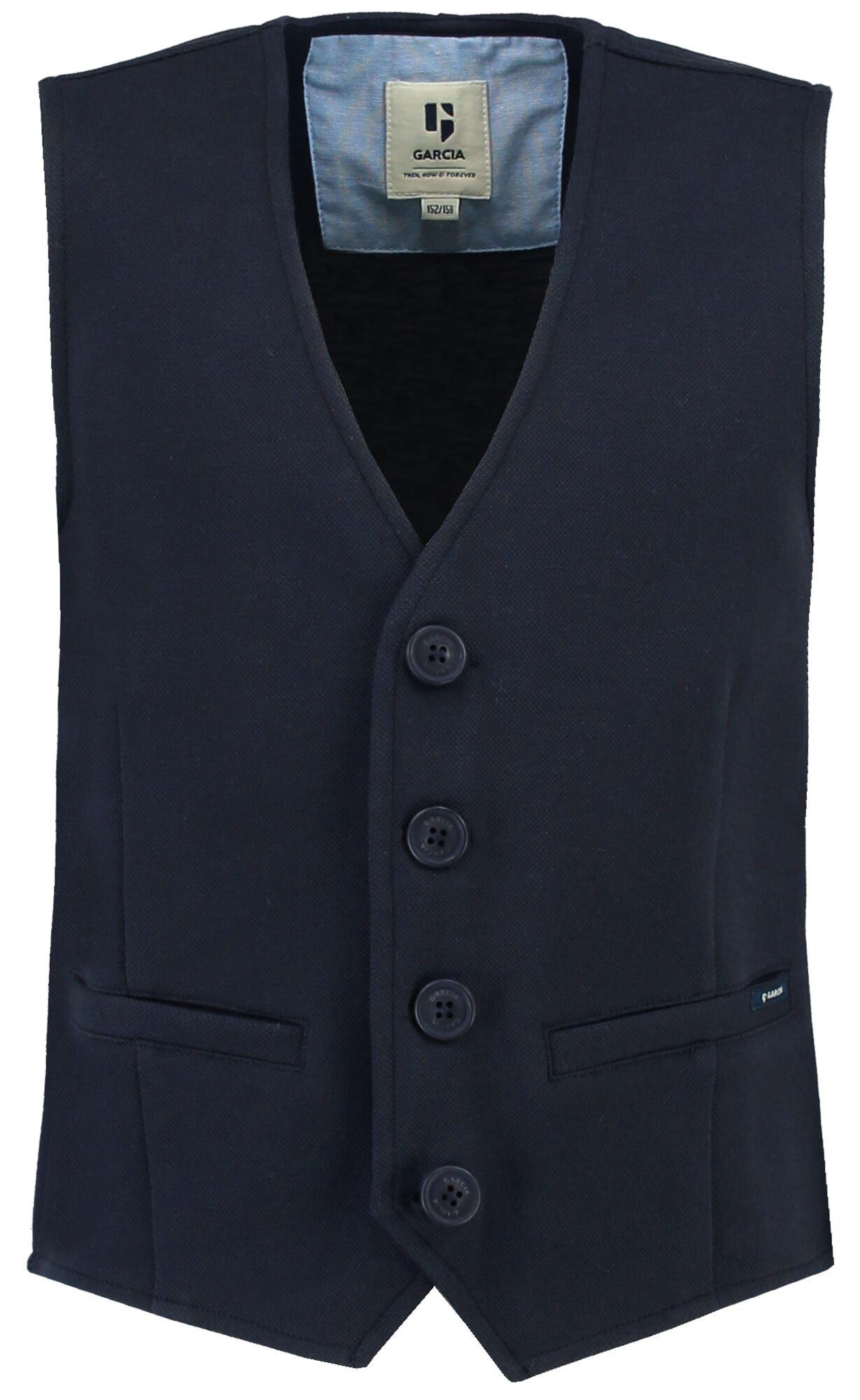garcia jungen anzug-weste dunkelblau festlich online kaufen | ceres webshop