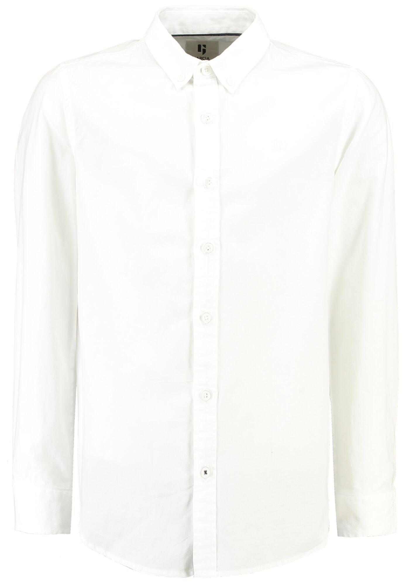 garcia jungen anzug hemd weiß langarm festlich online kaufen | ceres webshop