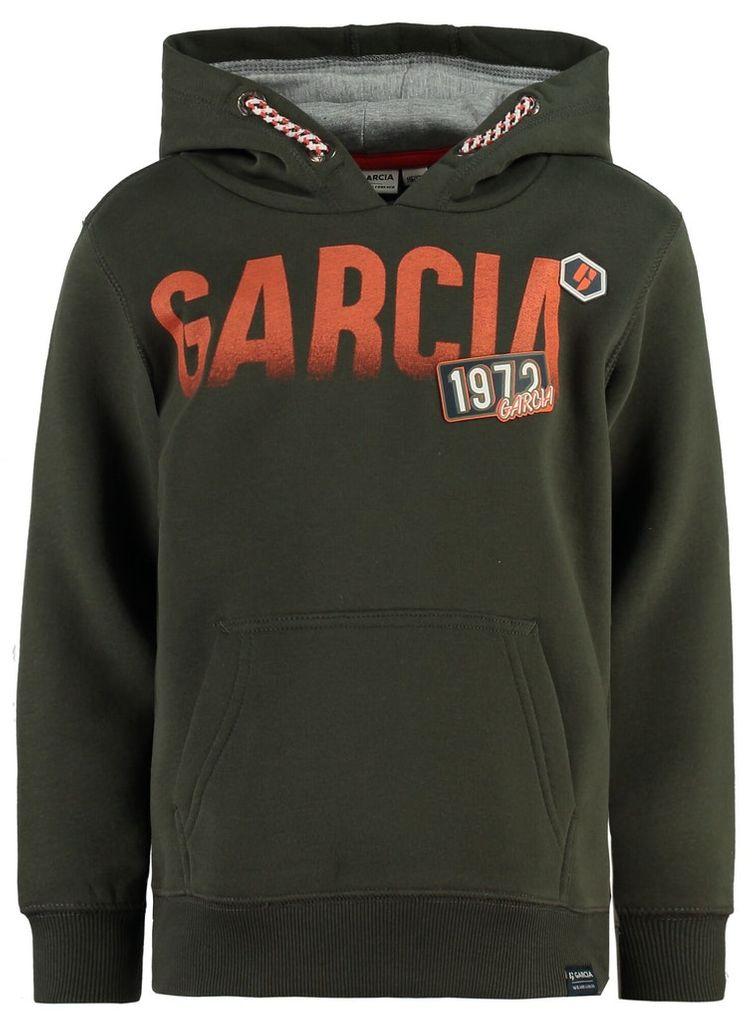 Garcia Jungen Hoodie Sweatshirt mit Kapuze Logo-Print – Bild 7