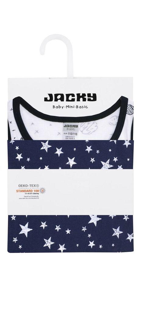 Jacky Jungen Unterhemden 2er Pack Kinder Unterwäsche Tanktop – Bild 2