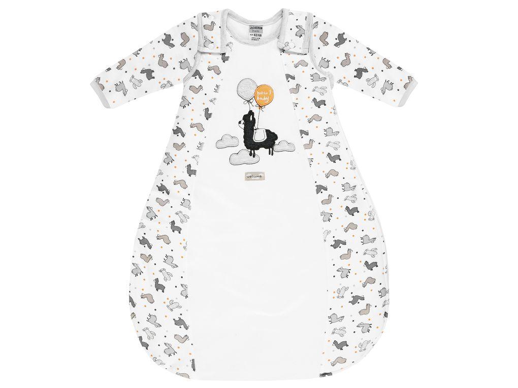 Jacky Baby Jungen Mädchen Ganzjahres-Schlafsack abnehmbare Ärmel
