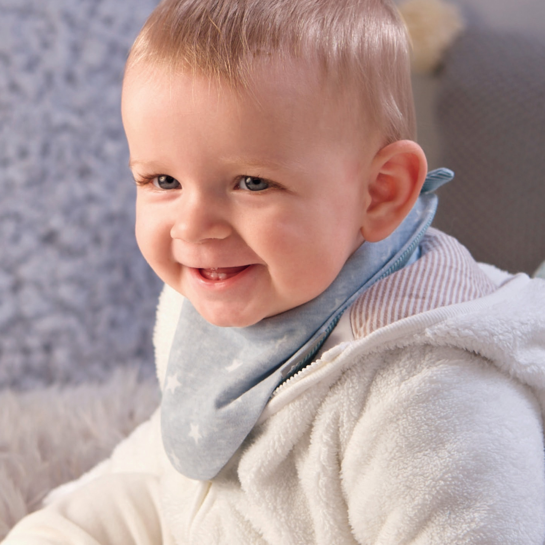 Sterntaler Baby Jungen M/ädchen Dreieckstuch Jersey