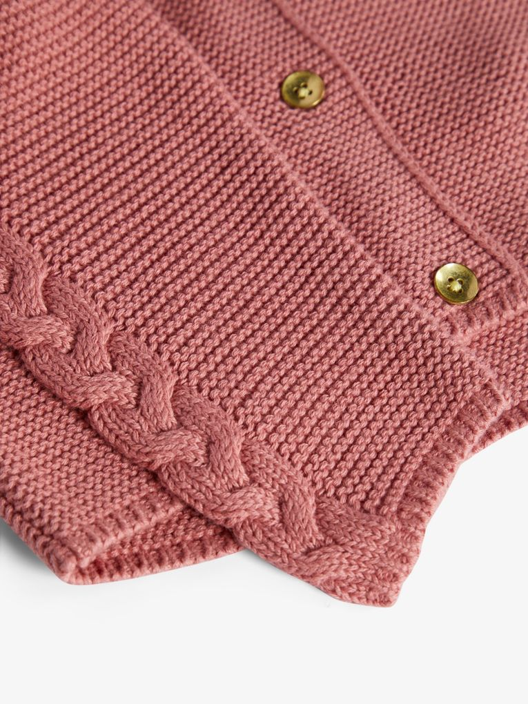 Name it Baby Mädchen Strickjacke NBFRISOL LS KNIT CARD – Bild 3