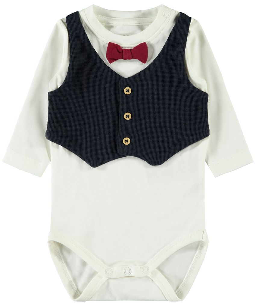 Name it Baby Jungen Set Body & Hose festlich NBMROMOLLER – Bild 2