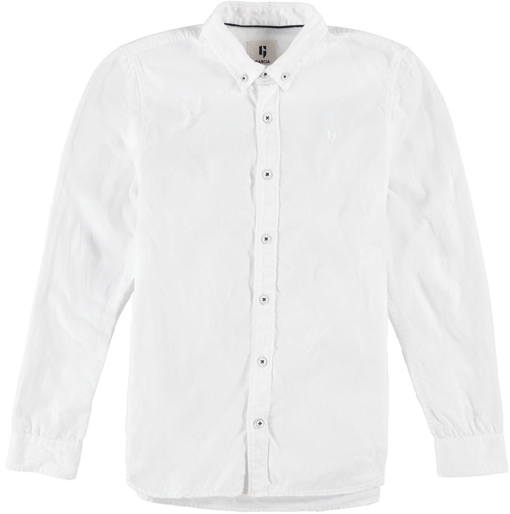 garcia jungen anzug-hemd weiß langarm festlich online kaufen | ceres webshop