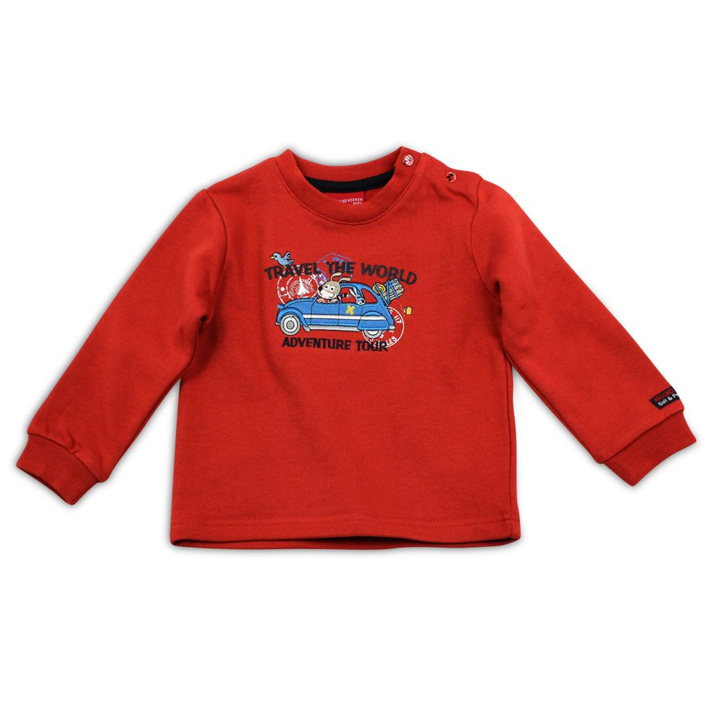 Salt and Pepper Jungen Sweatshirt Adventure Auto – Bild 2