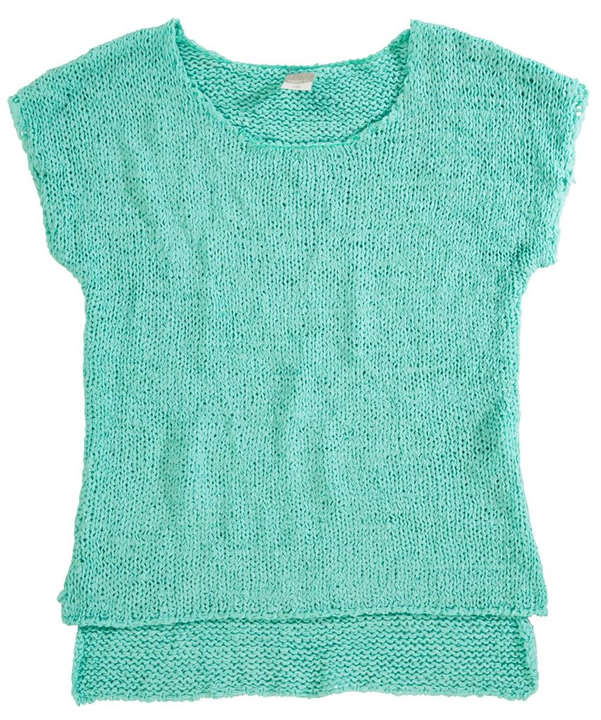 Name it Mädchen Strickshirt Hooti