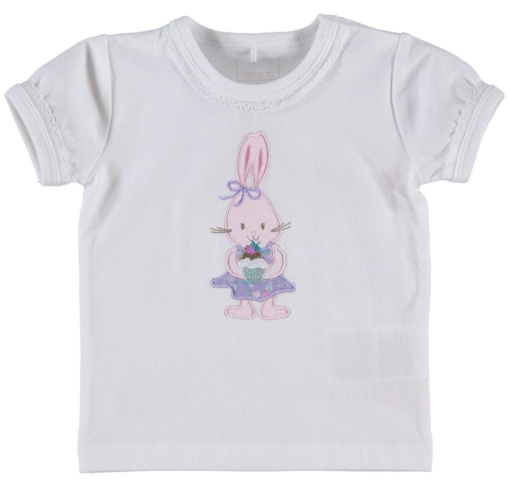 Name it Baby Mädchen T-Shirt Haley