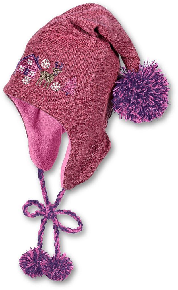Sterntaler Mädchen Winterzipfelmütze – Bild 1