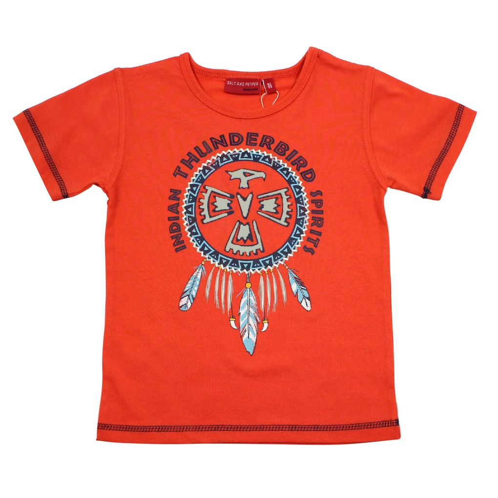 Salt & Pepper Jungen T-Shirt Indians
