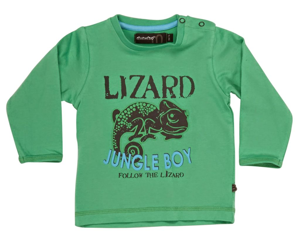 Minymo Jungen Langarmshirt Jungle Boy Wade
