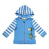 Salt and Pepper Baby Kapuzen-Sweatjacke Safari