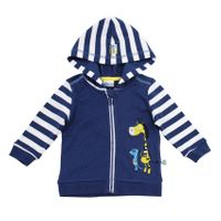 Salt and Pepper Baby Kapuzen-Sweatjacke Safari – Bild 2
