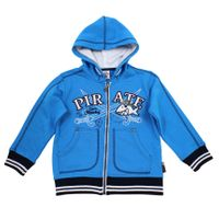 Salt & Pepper Jungen Kapuzen-Sweatjacke Capt`n Sharky