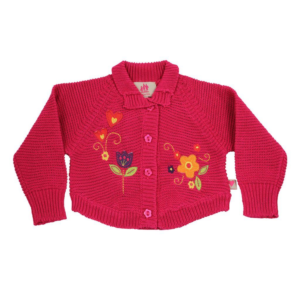 Paglie Baby Bolerojacke pink